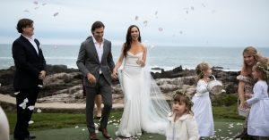 Craig Coyne and Barbara Bush Wedding