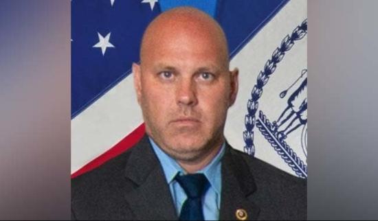 NYPD Detective Brian Simonsen
