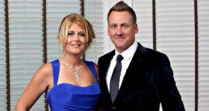 Ian Poulter and Katie Poulter