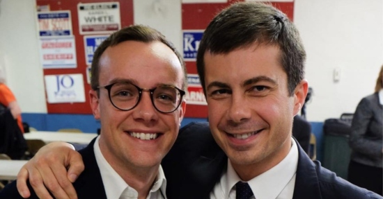 Pete Buttigieg and Chasten Glezman