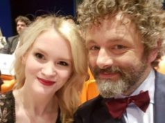 Anna Lundberg and Michael Sheen