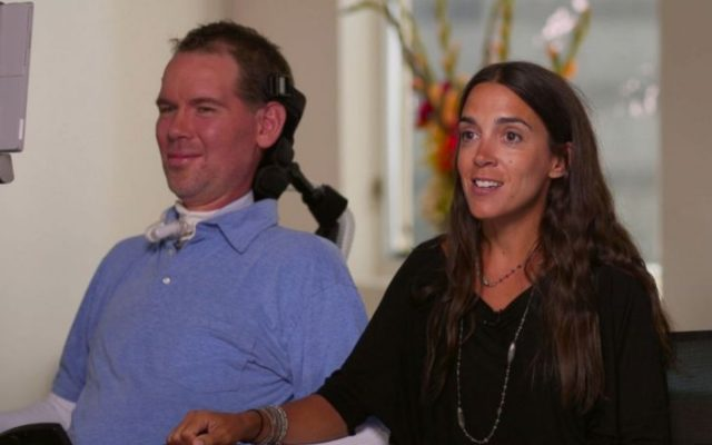 Michel Varisco Gleason and Steve Gleason