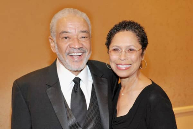 A photo of Todd Wither's parents; Bill Withers and Wife Marcia Johnson