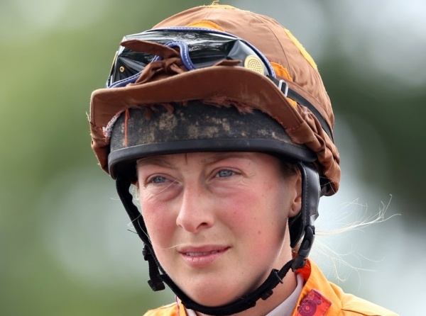 Jockey Lorna Brooke
