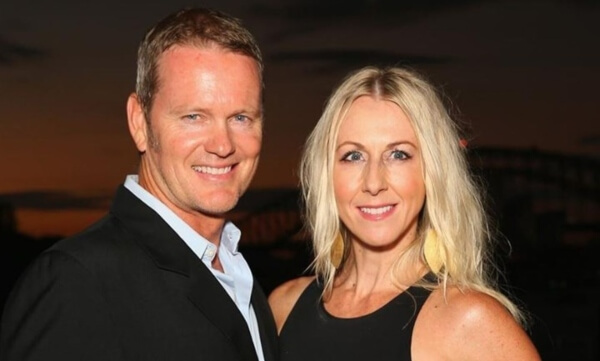 Craig Mclachlan and Vanessa Scammell